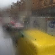 Tatsächlich hat es mich heute auch erwischt ... Regen in London